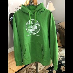 The North Face Men's Hoodie. XL, Faded logo, GUC